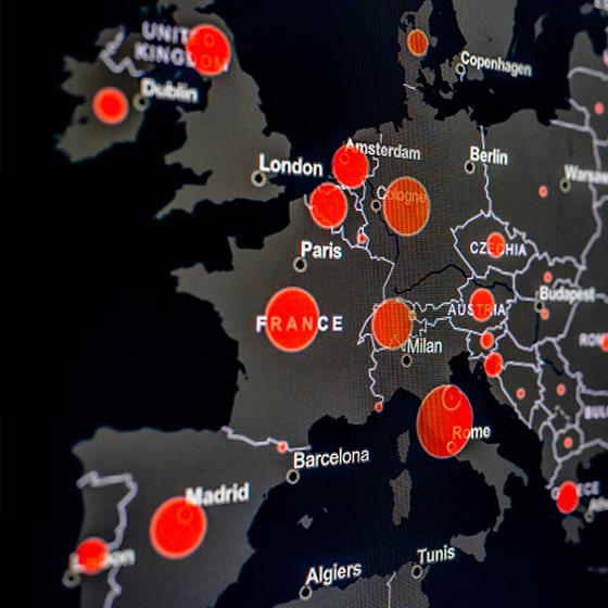 korona virüsünün etkilediği ülkeler haritası